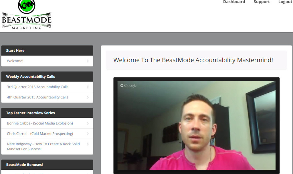BeastMode Mastermind Screenshot